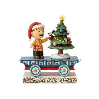 """Linus Train Car"" (Linus) Peanuts by Jim Shore 6000990"