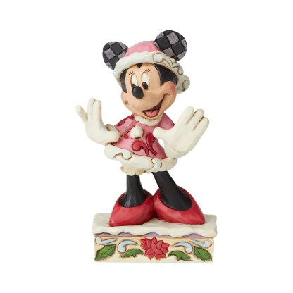 Minnie Christmas Personality - Disney Traditions by Jim Shore 6002843
