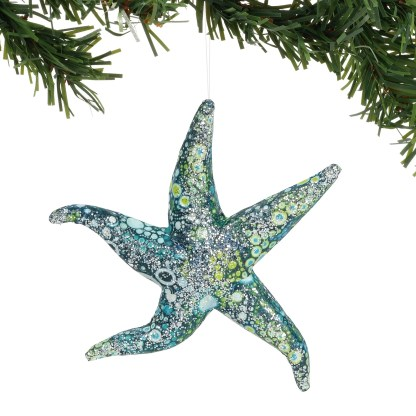 Otto's Granary Pearl Bay Watercolor Star Ornament by Dept 56