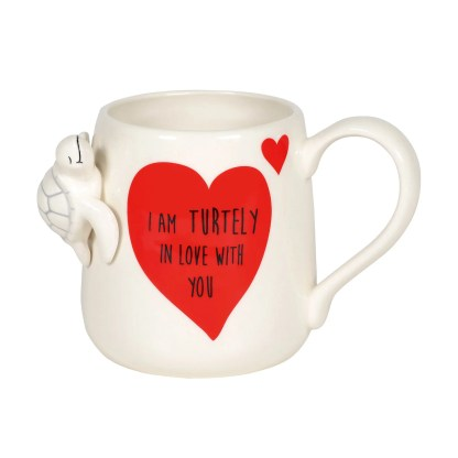 Otto's Granary Sculpted Turtle Mug by Our Name Is Mud