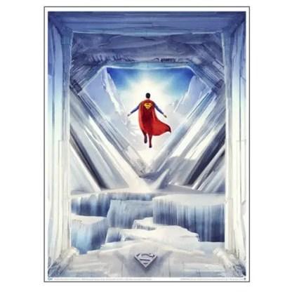 Superman Solitude Art Print