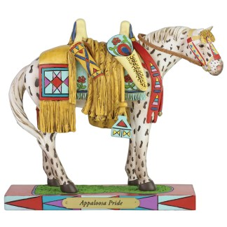 Otto's Granary Appaloosa Pride Figurine by The Trail of Painted Ponies