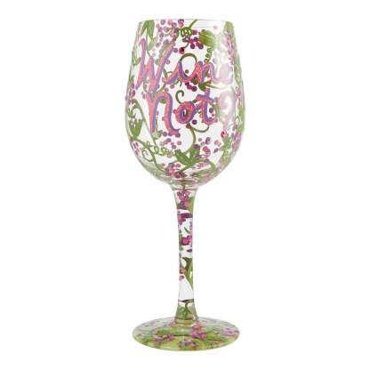 Otto's Granary Wine Not? 15oz. Wine Glass by Lolita