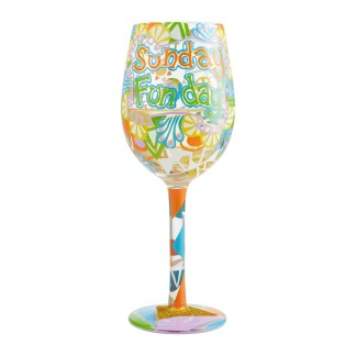 Otto's Granary Sunday Funday Wine Glass by Lolita