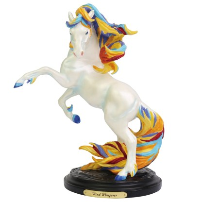 Otto's Granary Wind Whisperer Figurine by The Trail of Painted Ponies