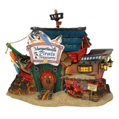Otto's Granary Margaritaville Pirate Treasure by Dept 56