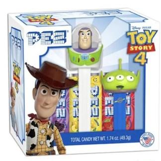 Otto's Granary Buzz Lightyear & Green Alien PEZ Twin Pack Gift Set