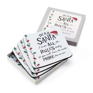 Otto's Granary Dear Santa All the Rules Coasters Entertainment by Izzy and Oliver