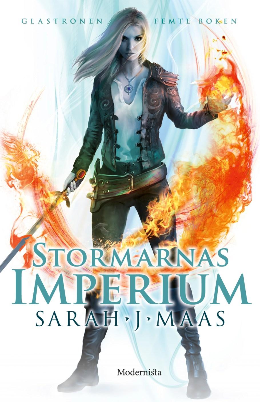 Stormarnas imperium av Sarah J Maas