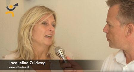 Spreker aan het woord: Jacqueline Zuidweg