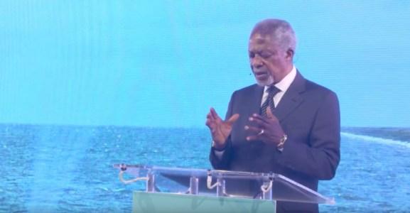 Kofi Annan speech Making Waves