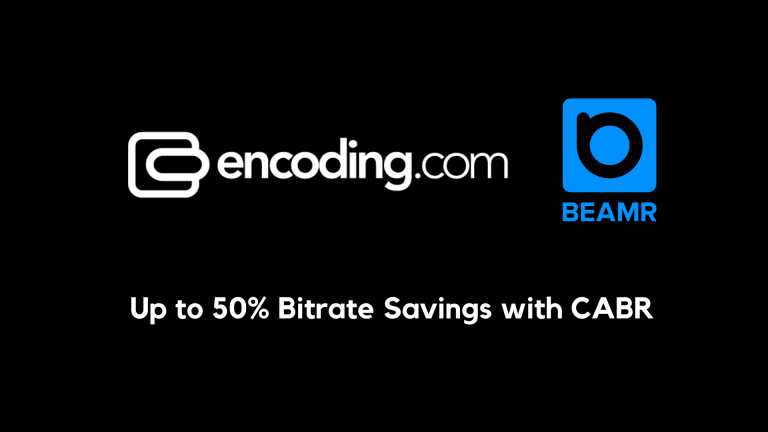 Encoding.com With Beamr's CABR for Up to 50% Bitrate Reduction
