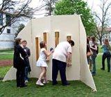 Susan and Bob Cunningham's Aeolian harps at Emory University