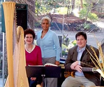 Susan and bassist Brian Gillette with Atlanta Mayor Shirley Franklin