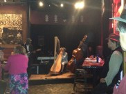 Susan and Frank Robinson sitting in at The Family Dog 10/7/2012