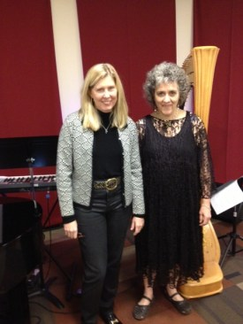 With Penelope Williams at Spiritual Center of Atlanta, 12/29/13