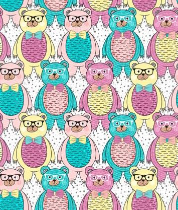 Minky Way Fabrics Bears