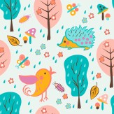 Minky Way Fabrics Forest 1