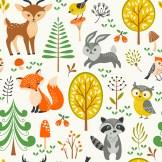 Minky Way Fabrics Forest