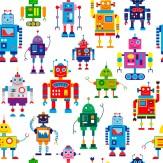 Minky Way Fabrics Robots