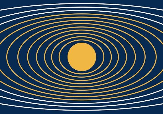 Asgardia uzay ülkesi devleti bayrağı