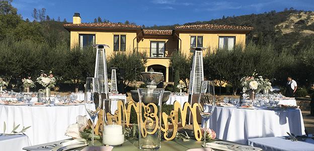 el dorado county wedding catering