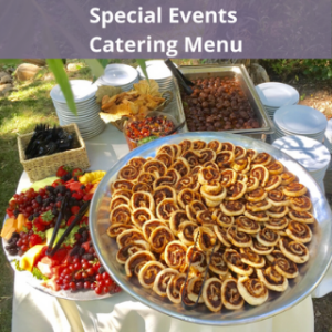 Catering Company - Special Events Catering Menu