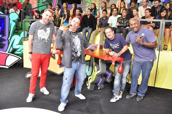 Dennys Motta, Tatola Godas, Ricardinho Mendonça e Angelo Campos (Foto: Divulgação)