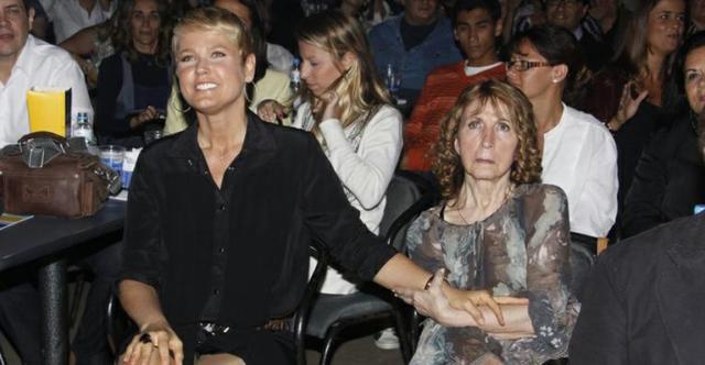 Xuxa e a sua mãe, a dona Alda (Foto: Divulgação)