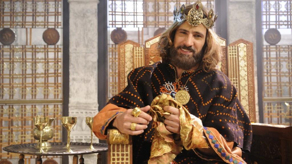 """Leonardo Bricio em cena de """"Rei Davi"""" (Foto: Divulgação/Record)"""
