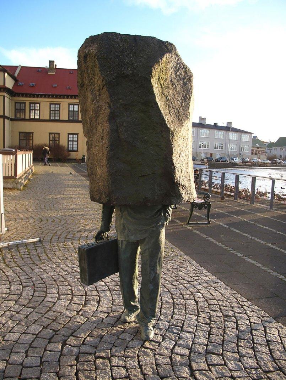 Неизвестный чиновник, Рейкьявик, Исландия.