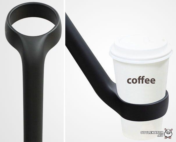 Зонт-подставка для чашки