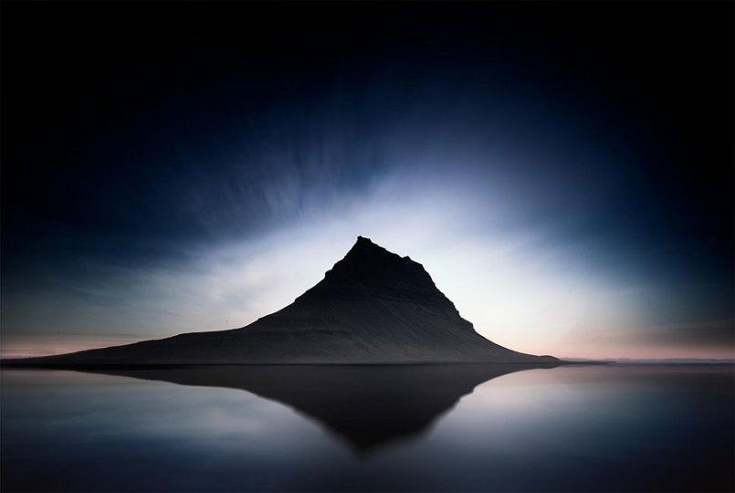 айсберг в Исландии