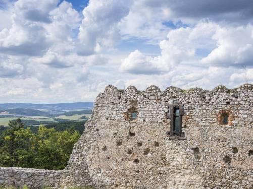 Zamek w Cachticach (9)