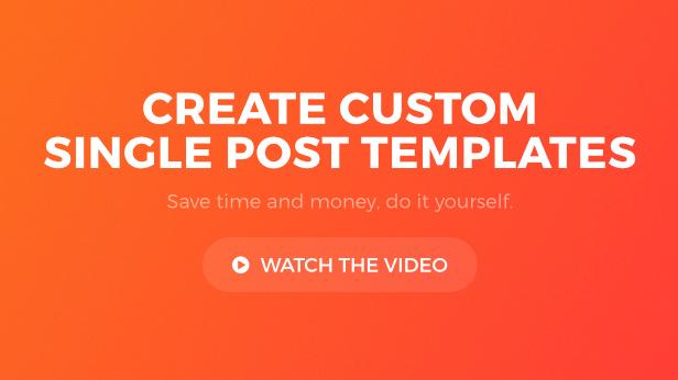 Post Custom Templates Pro - WordPress plugin - 3