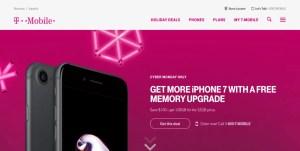 T-Mobile スクリーンショット