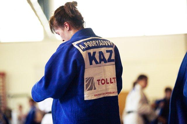 Александра Подрядова – чемпионка РК по дзюдо