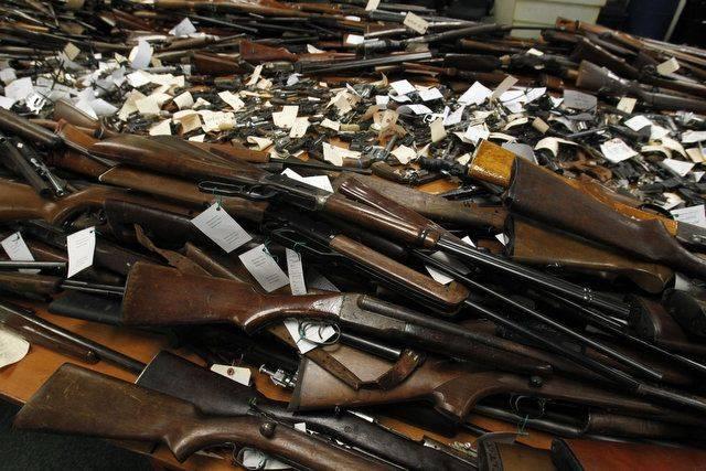 Наибольшая активность населения по добровольной сдаче оружия отмечено в ЮКО