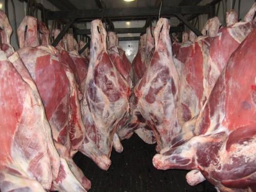 Мясо на базаре