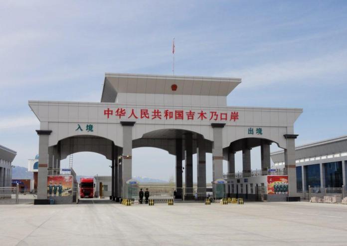 Казахстанская китайская граница