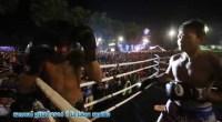 Des membres d'un Gang Thailandais forcé de se batter avec des boxeurs Thai Pro