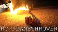 Transformation d'un jouet camion de pompier en lanceur de flammes
