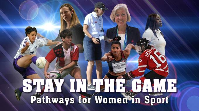 Stay In The Game: Pathways For Women In Sport   March 27, 2021