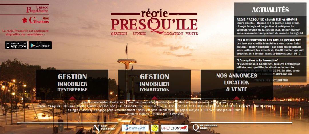 capture site régie presqu'ile