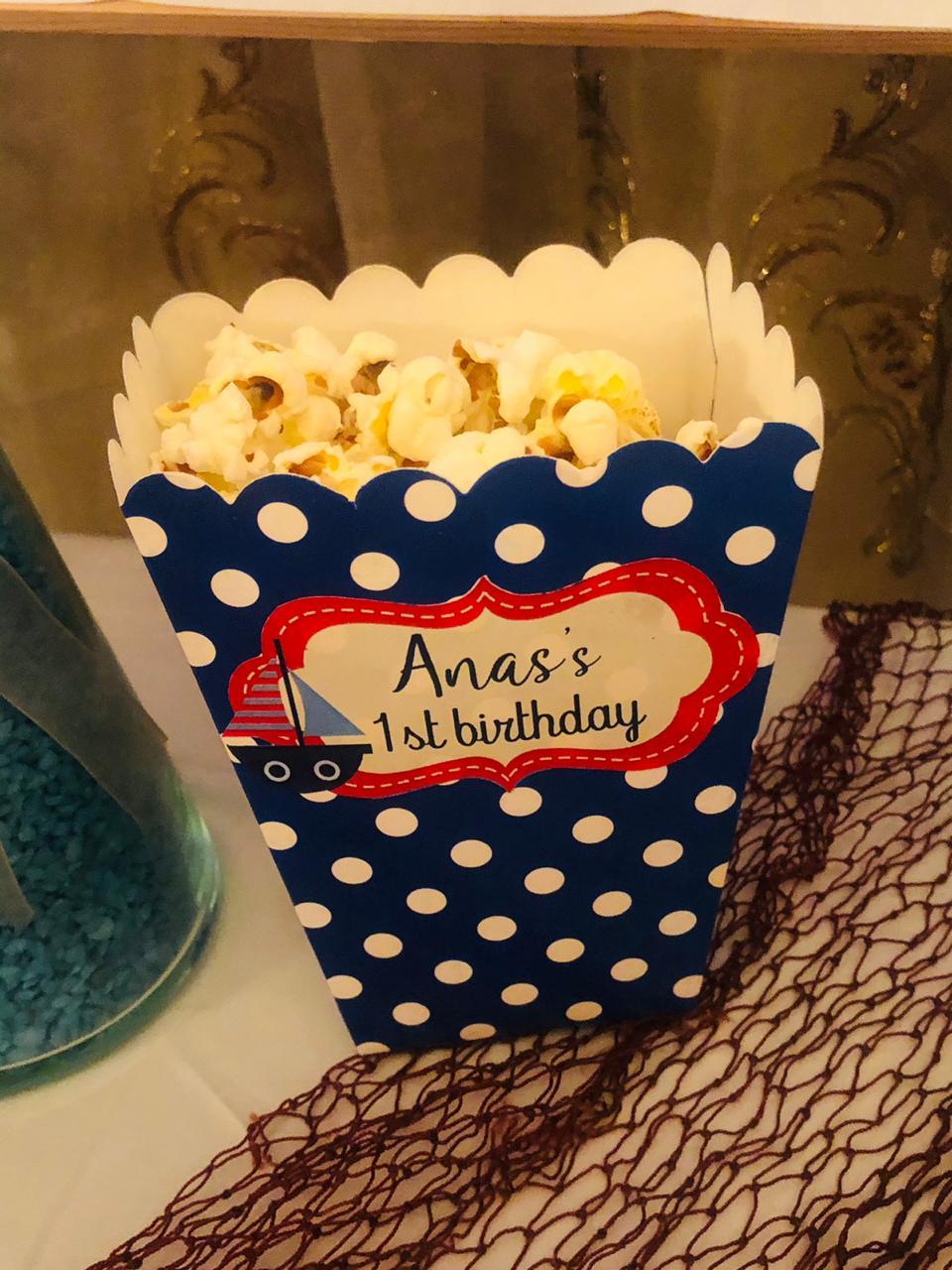 Birthday crafts Anas 8