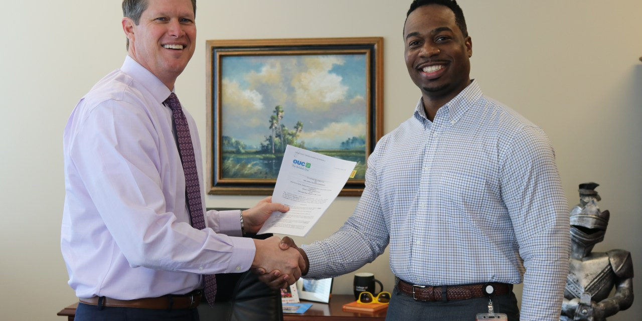 OUC Signs First Commercial EV Charging Station Contract