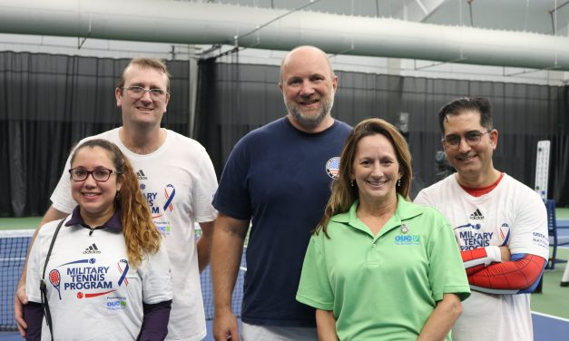 OUC Partners with USTA's Military and Wheelchair Tennis Programs