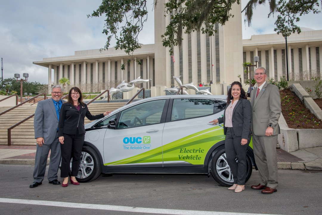 OUC EV DRIVE UP TEAM