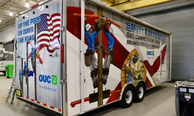 Team Pride Shows on Rodeo Equipment Trailer