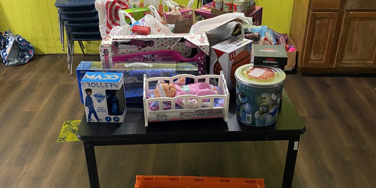 FOOD, TOYS DONATED TO YOUTH CENTER